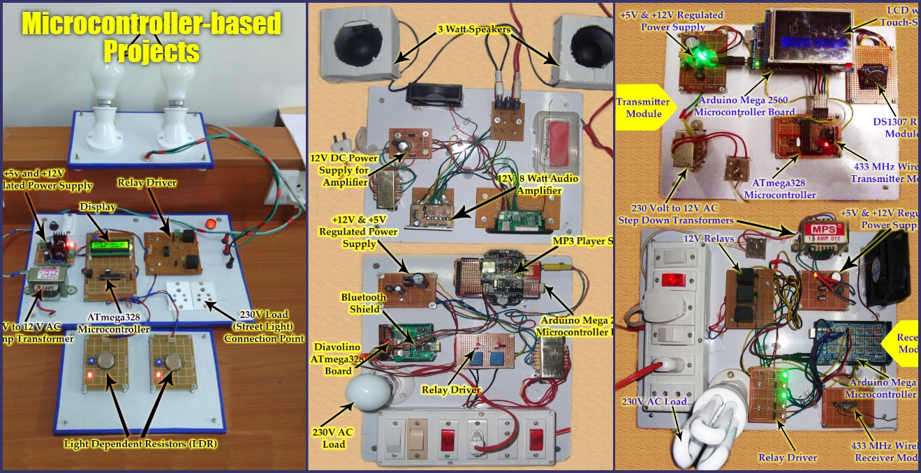 Microcontroller-based Projects